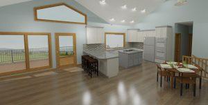 Design of a kitchen