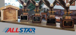All Star Construction awards